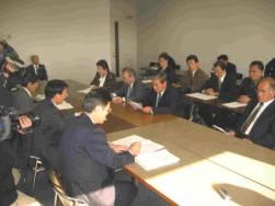 石川県に申し入れ 2